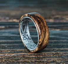 wooden rings wedding images Photo gallery of handmade mens wedding rings viewing 2 of 15 photos jpg