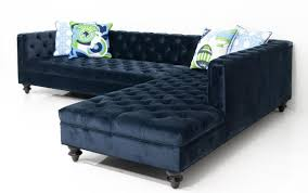 collection in navy blue sectional sofa with navy blue leather