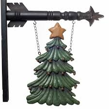 hanging sign christmas tree piper classics