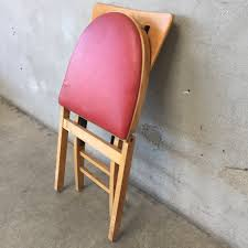 Stakmore Folding Chairs Vintage Vintage Stakmore Folding Chair U2013 Urbanamericana