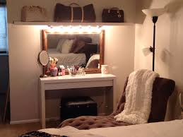 Diy Vanity Table Ideas Furniture Beauty Dress Up With Makeup Desk With Lights