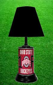 Ohio State Bathroom Accessories by Amazon Com Ohio State Buckeyes Ncaa Lamp By Tagz Sports