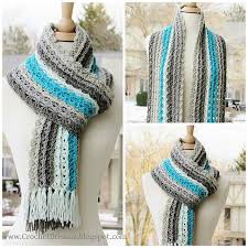 ravelry ocean waves scarf pattern by crochetdreamz