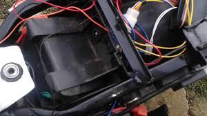 motorbike alarm wiring setup with remote electric keyless start on
