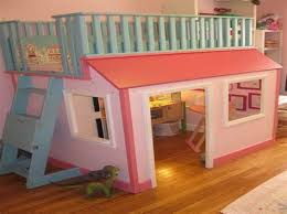 girls with bunk beds desk on the bottom for a intersafe
