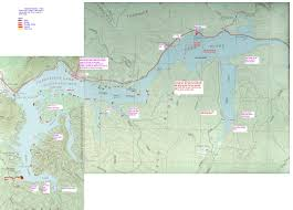 Tennessee River Map Chattanooga Fishing Forum Useful Links