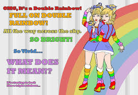 Double Rainbow Meme - double rainbow bright meme by mc comics on deviantart