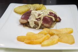 cuisiner le magret magret de canard et ses deux pommes recette magret de canard et