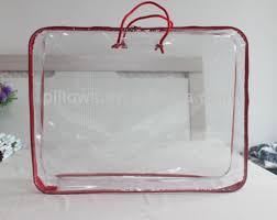 Duvet Bags Transparent Plastic Bag For Quilt Duvet Comforter Packaging
