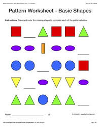 free worksheets pattern worksheets for middle free math