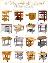 stylish kitchen island carts kitchen design