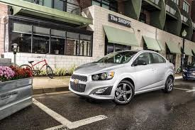 2018 chevrolet sonic new car review autotrader