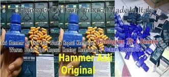 ciri obat hammer of thor asli dan palsu bentuk hammer of thor asli