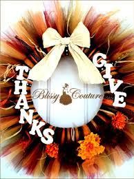 thanksgiving reefs give thanks thanksgiving fall tulle tutu wreath by www