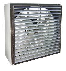 36 inch exhaust fan vik cabinet exhaust fan w shutters 36 inch 11100 cfm belt drive