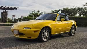 mazda roadster hardtop 1992 mazda roadster sunburst yellow walk around and test drive