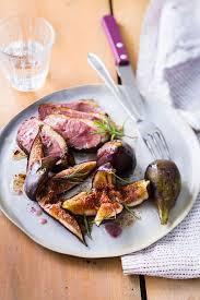 cuisiner les figues fraiches recette de magret de canard aux figues fraîches top santé