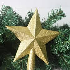 christmas tree top star plastic christmas star tree topper for