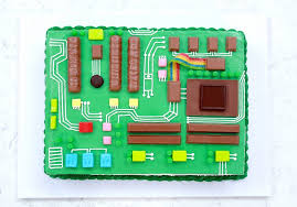 how to make a motherboard cake rosanna pansino