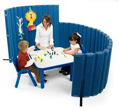 Daycare Room Dividers - angeles sound sponge quiet dividers 48