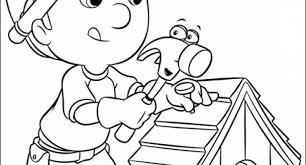 handy manny tools coloring pages handy manny handy manny and truck coloring page handy manny and