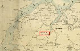 Singapore On Map Princess Elizabeth Estate The Origin Of Tengah
