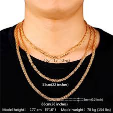 mens byzantine necklace images U7 cool byzantine chain necklace gold plated men women jewelry 5mm jpg