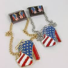 American Flag Shoes Gold Or Silver Large High Heels Shoes Rhinestones American Flag