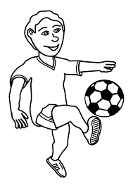 coloring page to play football img 27619