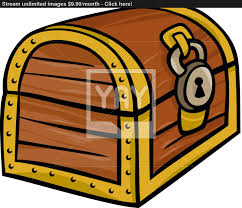 cartoon treasure chest clipart 51