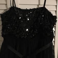 47 off naf naf dresses u0026 skirts sparkly black dress naf naf