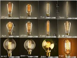 40w vintage edison bulb diy handmade e27 retro incandescent light