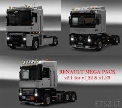 renault trucks magnum renault truck mega pack ets 2 mods