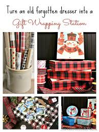 my gift wrapping station sweet parrish place