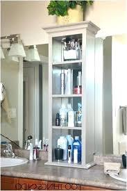 bathroom counter storage ideas bathroom counter shelf paradiceuk co