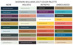 Sherwin Williams 2017 Colors by Decorating Den