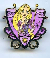 amazon disney dlr princess jeweled crest rapunzel