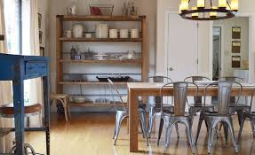 Industrialize Your Dining Room With Metal Dining Chairs - Metal kitchen table