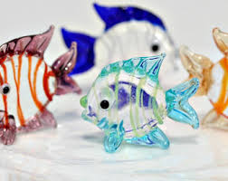 blown glass fish etsy