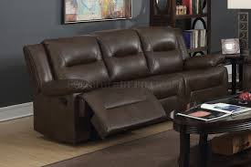 Motion Recliner Sofa by Motion Reclining Sofa 52815 In Espresso Leather Aire