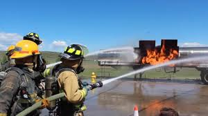 Wildfire Near Fort Collins Colorado by Fort Collins High Students Train With Pfa