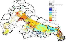 Map Of Indus River Water Food And Livelihoods In River Basins Water Poverty And