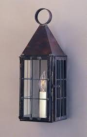 Lantern Wall Sconce Colonial Revere Lantern Period Piece Reproduction Lighting