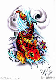 koi fish tattoo art tattoomagz