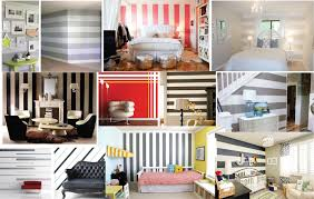 custom wall stripes sample five trendy wall designs