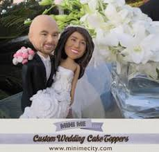 custom figurines from your photos personalized cake toppers