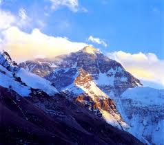 Mt Everest Map Tibet Mount Everest Everest Base Camp Qomolangma Peak