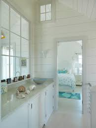Beach Cottage Bedroom by Nantucket Beach Cottage With Coastal Interiors Coastal