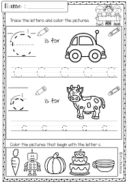 free kindergarten morning work includes 18 worksheet pages these