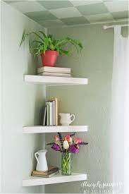 Floating Wooden Shelves by Floating Shelf Bedside Table Decor Shelves Bathroom Shelves